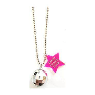 Disco Dance Club Necklace