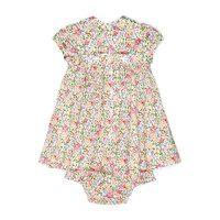 Ella Baby Dress, Pink Floral