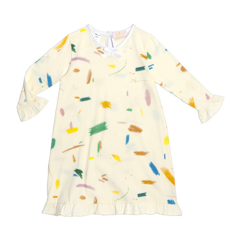 Exclusive Doodle Loungewear Dress