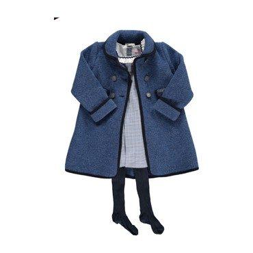 Razorbill Coat, Dutch Blue