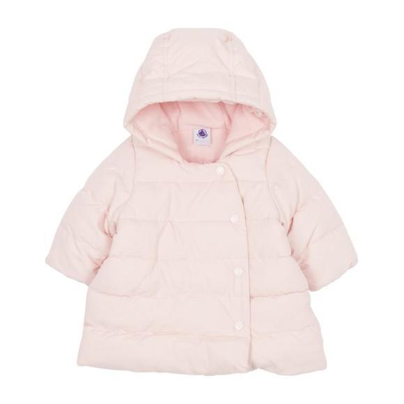 Baby Winter Hooded Coat, Pink