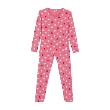 Child Pajamas, Pink with Stars