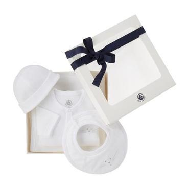 Baby 4pc Box Set, White