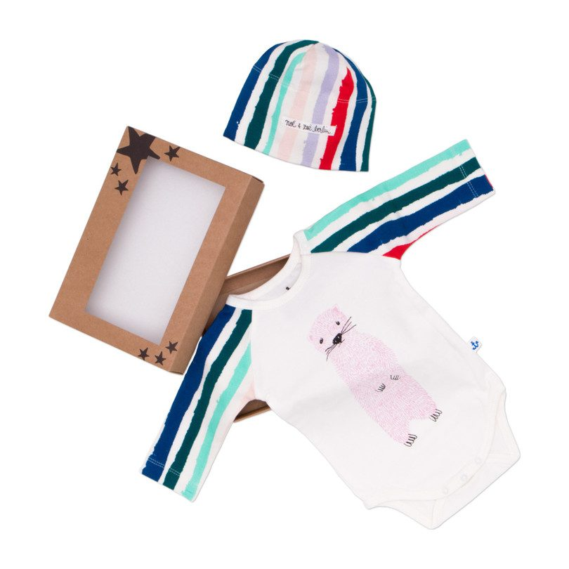 Winter Stripes Gift Set