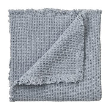 Waffle Cotton Blanket, Pigeon