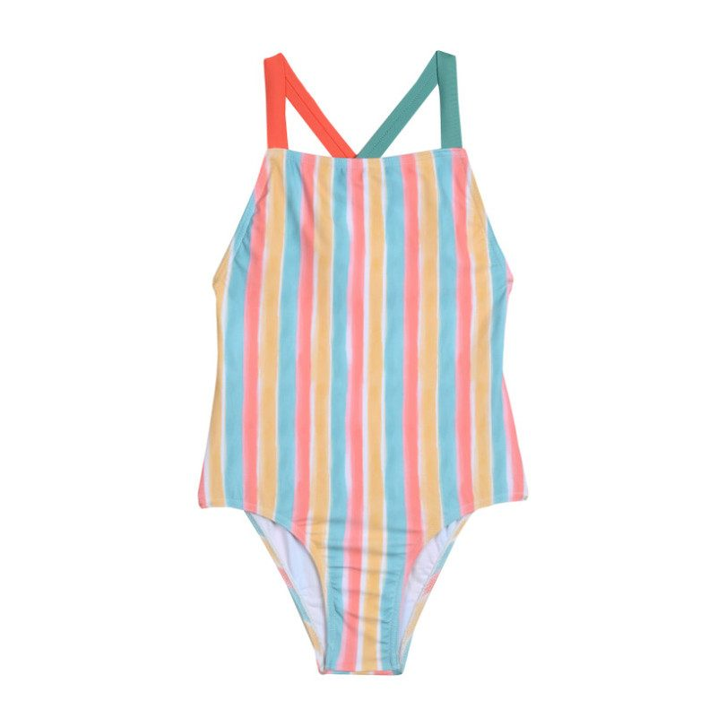 Swimsuit, Candy Stripe