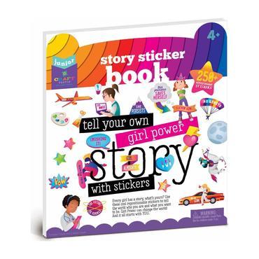 Story Sticker Book - Girl Power!