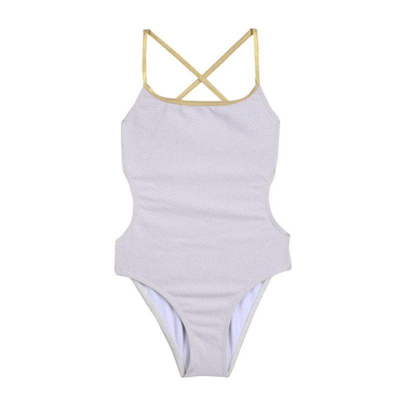 Swimsuit, Sand Dunes & Gold