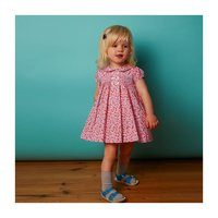 Hedy Baby Dress, Pink Floral