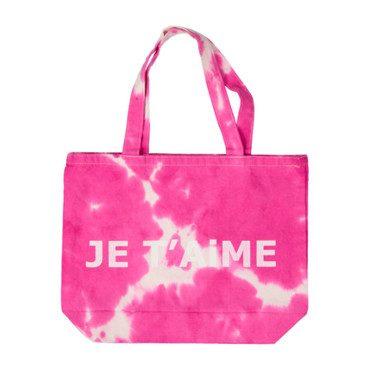 Je T'aime Bag, Pink Tie Dye