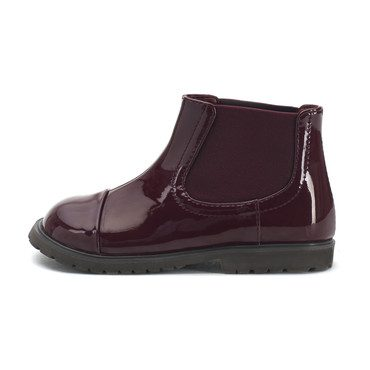 Julia Ankle Boots, Burgundy