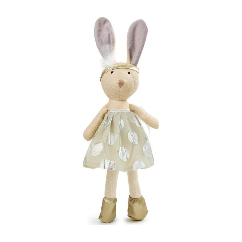 Juliette Rabbit in Metallic Party Dress
