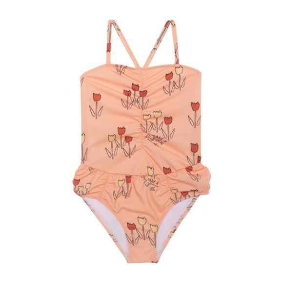 Kids Swimsuit, Poppy Prairie Print
