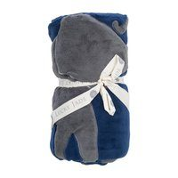 Reversible Elephant Playmat, Navy