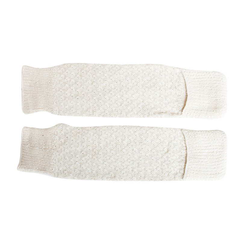 Leg Warmers, Cream