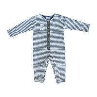 Long Sleeve Jumpsuit, Stripes