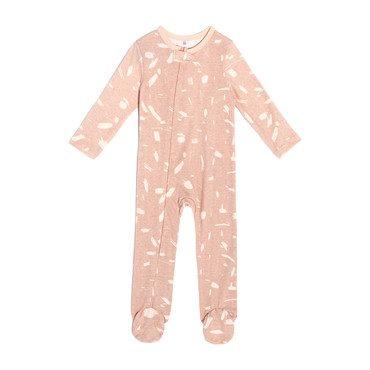 Footie Pajamas, Pink Doodle