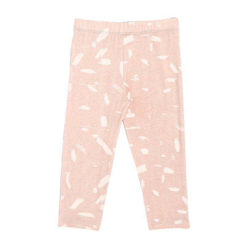 Leggings, Pink Doodle
