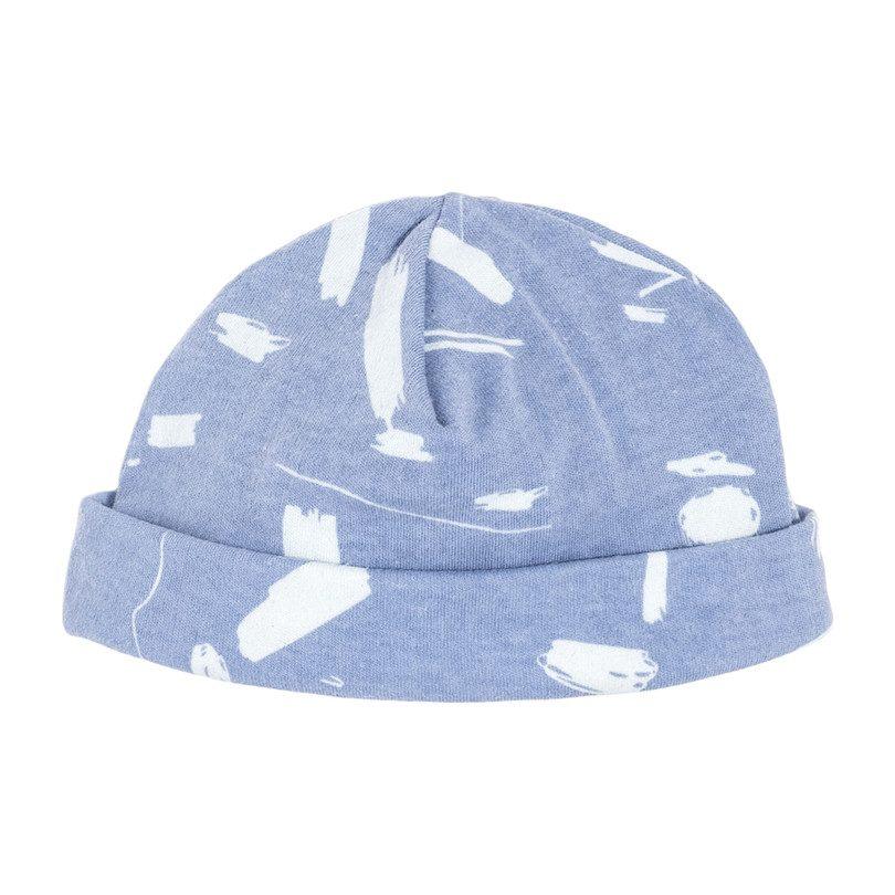 Baby Hat, Blue Doodle