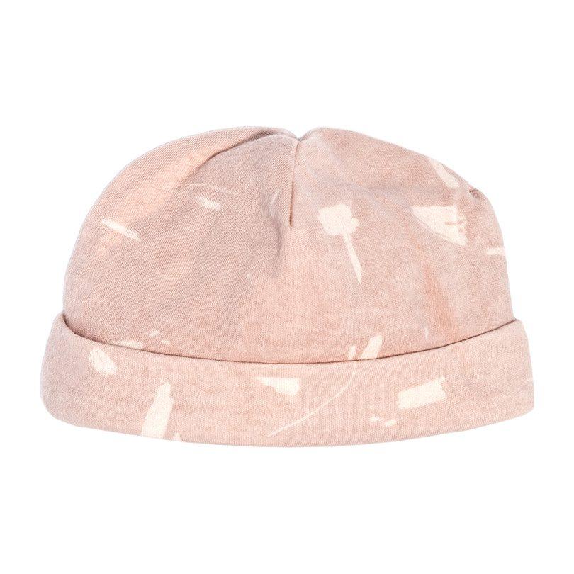 Baby Hat, Pink Doodle