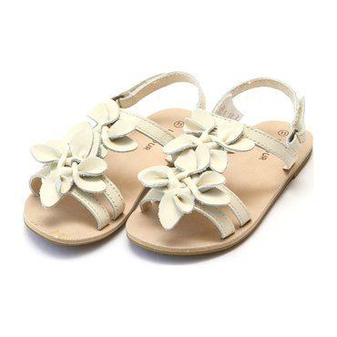 Georgia Blossom Sandal, Cream