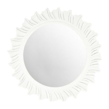 By The Sea Mirror, White