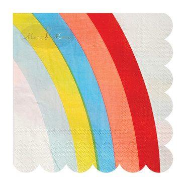 Rainbow Napkins, Small