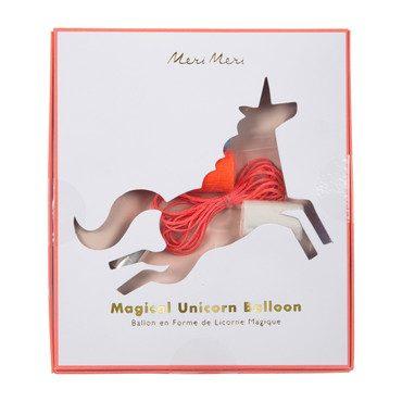 Magical Unicorn Mylar Balloon