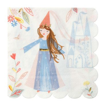 Magical Princess Napkins, Large
