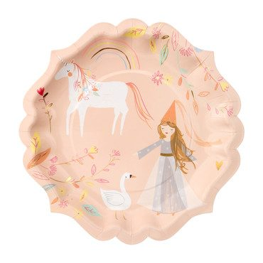 Magical Princess Plates, Large