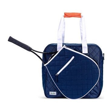 Navy/White Multi Cap Sweet Shot Tennis Tote