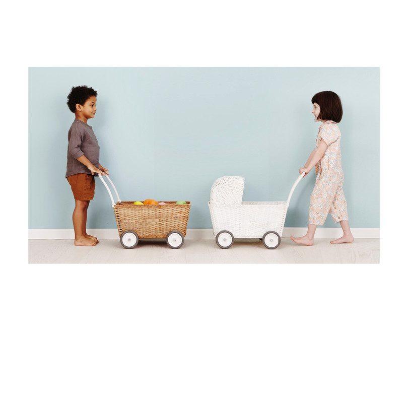 Strolley, White