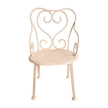 Powder Mini Romantic Doll Chair