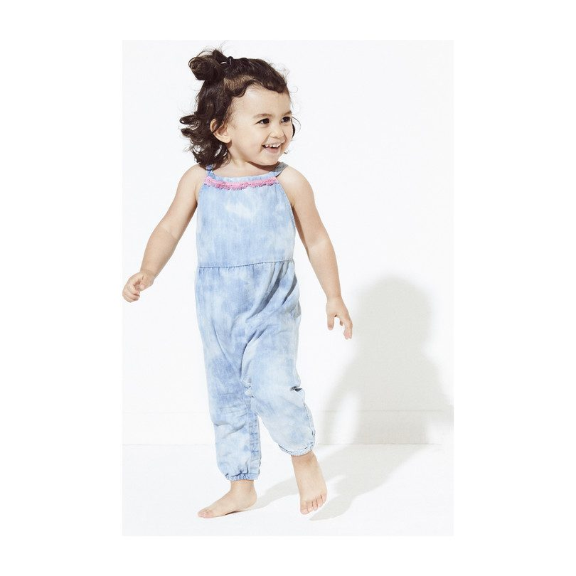 Lucia Romper, Denim
