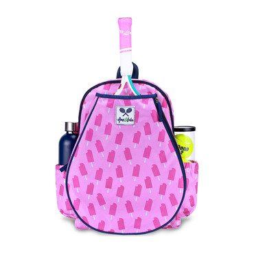 Purple Pops Little Love Tennis Backpack