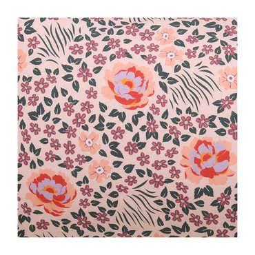 Cotton Fitted Crib Sheet, Forest Floor