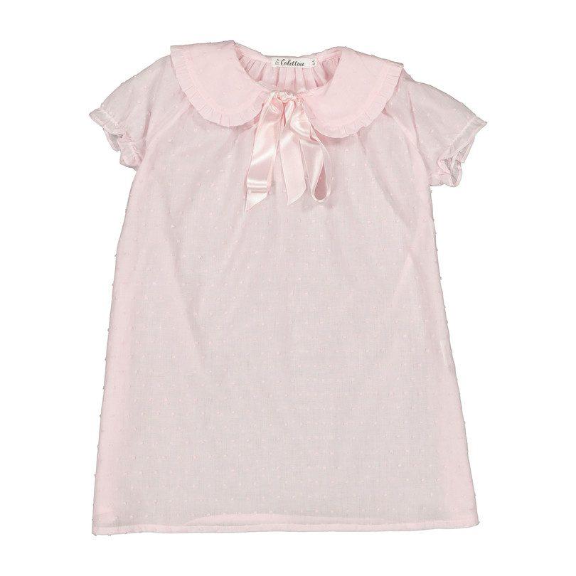 Flutter Nightgown, Pink