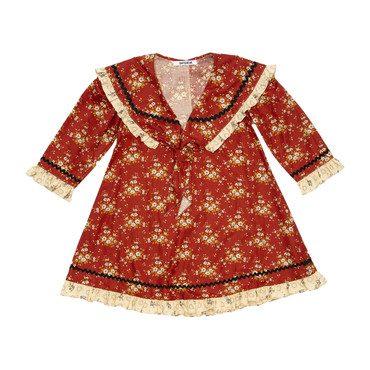 Sailor Dress, Red Floral