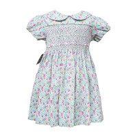 Sarah Baby Dress, Blue