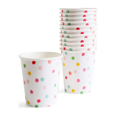 It's a Party' Dotty Cups, Multi