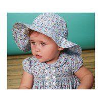 Valentina Hat, Blue Floral