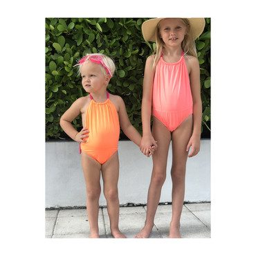 Yasmine One Piece, Orange Purple