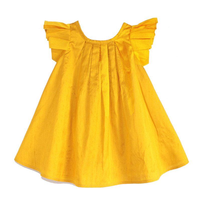 Marigold Dress, Yellow