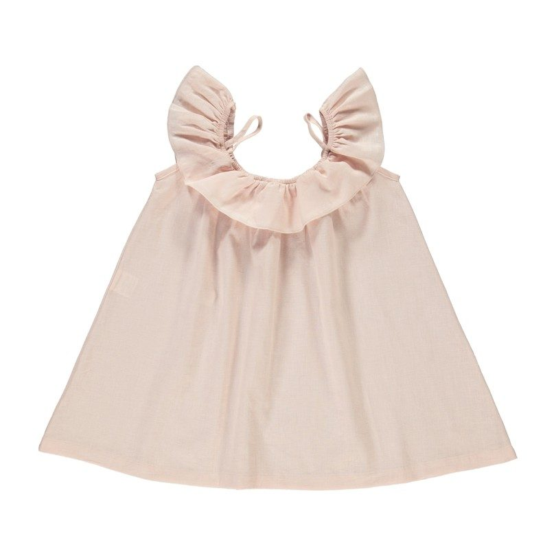 Birgita Dress, Old Pink