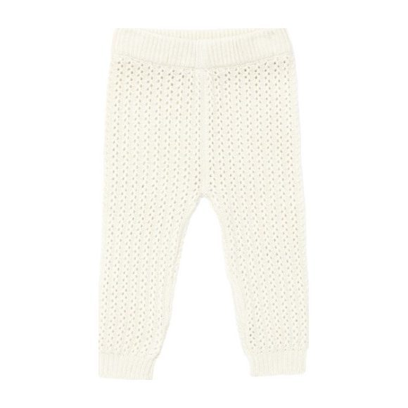Cashmere Knitted Pant, Winter White
