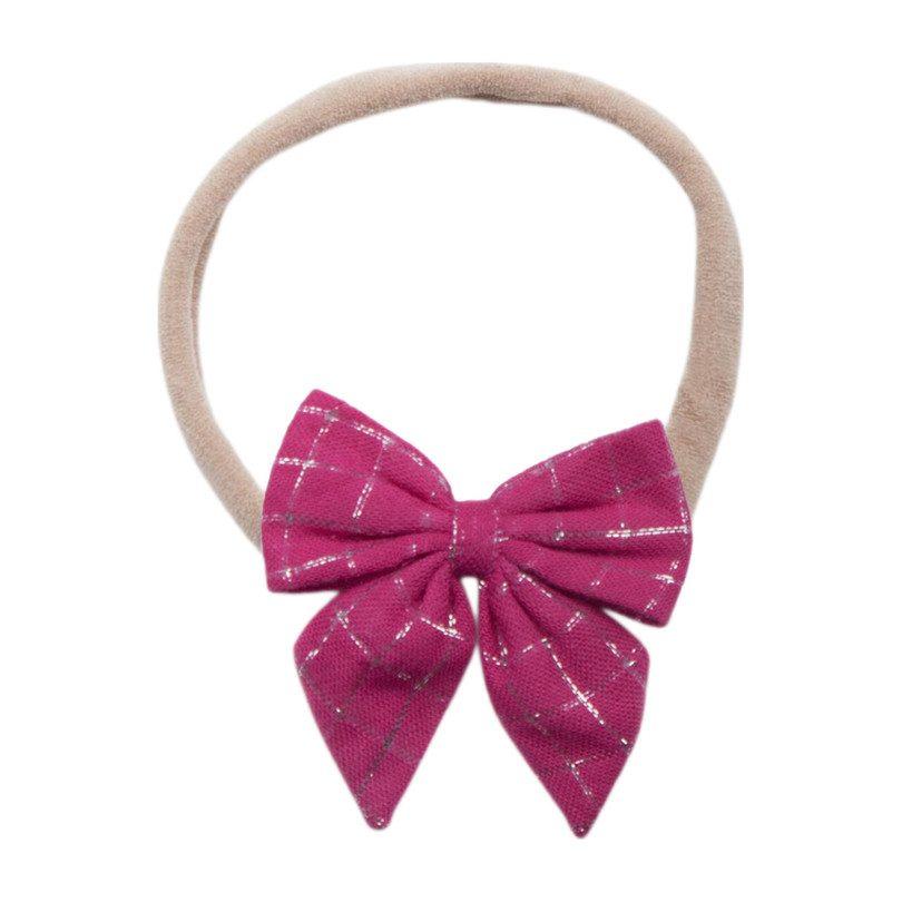 Baby Bow, Pink Lurex