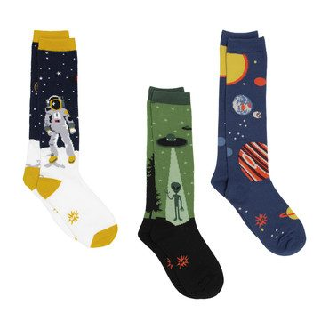 Youth Knee Bundle - Planets, Astronauts, & Aliens