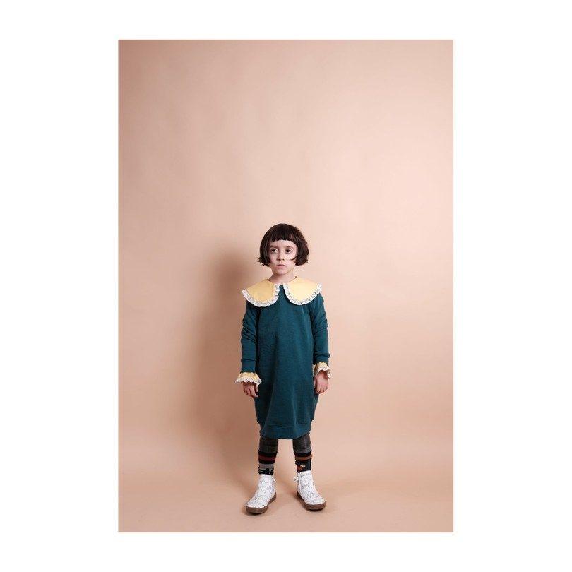 Antonia Dress, Green