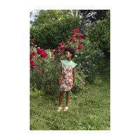 Weasel Dress, Nude Roses