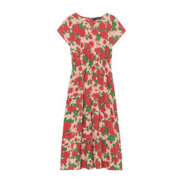 Marten Dress, Nude Roses